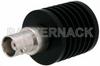 50 Ohm 10 Watts Black Anodized Aluminum Heatsink BNC Female RF Load Up To 4 GHz -- PE6101 -Image