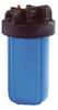 Blue Sump; Black Cap; 1 in. FNPT -- FH5000BL1 -Image