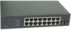 15 PORT 10/100 +1 PORT 100BASE FX ST MM DESKTOP -- 90-30118 - Image