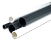 "4"" pvc sch 80 pipe plain end-20'l gray -- 26388 -- View Larger Image"