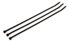 3M Black Standard Cable Tie CT11BK50-C - 11.1 in Length - 0.18 in Wide -- 051128-59300 -- View Larger Image