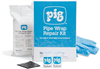 PIG Pipe Wrap Repair Kit for Lines & Joints Not Under Pressure Pipe Repair Wrap, Non-Pressurized, For Up to 2