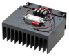 1 Watt P1dB, 6 GHz to 18 GHz, Medium Power Amplifier with Heatsink, SMA, 38 dB Gain, 10 dB NF -- PE15A4062F -Image