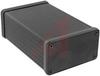 Enclosure; Extruded Aluminum; Plastic; 0.06 in.; Black Anodized -- 70166728