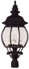Exterior Collections Post Lantern -- 07097-BLK