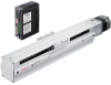 Linear Actuator (Slide) - Straight Type, X-axis Table with Built-in Controller (Stored Data) -- EAS6X-D030-ARAAD-3 -Image