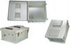 18x16x8 Inch 12 VDC Vented Weatherproof Enclosure -- NB181608-50V -Image