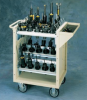 Pre-Engineered Mobile Fixed Toolholder Cart -- VTT211 -- View Larger Image