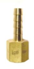 Brass Multi-Barbs Female Adapter Hose -- BHFA-4F3B