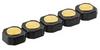8Y500B Series Target Connectors, 5.0mm/0.197
