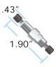 100 psi (7 bar) BPR Cartridge (P-763) with SST Holder -- U-607 - Image