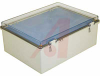 Enclosure; ABS/PC Blended Plastic; Polycarbonate Cover; Clear; NEMA -- 70148582