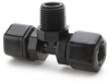 Parker Compression Male Branch Tee Tube to MPT Fittings -- 60374 - Image