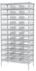 Clear Shelf Bin Steel Shelving Systems -- AS1279110SC