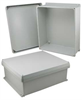 16x14x6 Inch UL® Listed Weatherproof Industrial NEMA 4X Enclosure Only with Corner Screws -- NBC161406 -Image