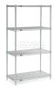 Stainless Steel Wire Shelving -- T9H189400 - Image