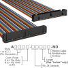 Rectangular Cable Assemblies -- A3CKB-5036M-ND -Image