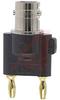 Adapter, Coaxial; BNC Female; BerylliumCopper; 30 VAC/60 VDC (Max.); Black -- 70197997