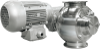 Sanitairy airlock -- SAL Sanitary rotary valve