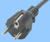 Continental European 10 Amp Cord Set w/C13 Connector -- 86230220 - Image