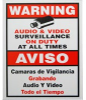 CCTV Security Camera Recording Sign LTSIGNB