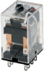 SZR-MY General Purpose Relay: Standard Relay; Plug-in/Solder Terminal; DPDT; 24 Vdc -- SZR-MY2-1-DC24V