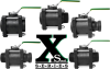XS Series Steel Handled 'Xtra Small' Ball Valves