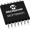 Enhanced Feature Battery-Backed SPI Real-Time Clock/Calendar -- MCP795W21 - Image
