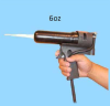 One Part 6 Oz Pneumatic Cartridge Dispenser Gun