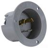Locking Flanged Male Base Inlet -- L720-FI