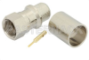 75 Ohm F Male Connector Crimp/Solder Attachment for RG11, RG216, RG144 -- PE44315 -Image
