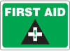 First Aid Sign -- SGN596