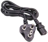 6ft South Africa Industrial 3-pin Plug to IEC C13 Power Cord -- P-06B-SA-YP80