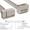 Rectangular Cable Assemblies -- M3AEK-1018J-ND -Image