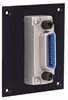 Universal Sub-Panel, IEEE-488 Bulkhead Adapter, Normal Entry -- REF00003 -Image