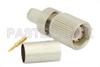 75 Ohm 1.6/5.6 Plug Connector Crimp/Solder Attachment for RG59, RG62, RG71 -- PE44263 -Image