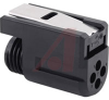 connector,plug,quick connect/disconnect,for 4 machined size 16 socket contacts -- 70129412