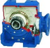 Right Angle Helical Wormgear Gearboxes -- PM Series PH Type
