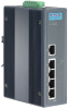 5-port Industrial PoE Switch with 24/48 VDC Power Input -- EKI-2525PA -- View Larger Image