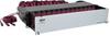 40/100Gb Fiber Breakout Patch Panel, 40Gb to 4 x 10Gb, 100Gb to 4 x 25Gb, 42 MTP QSFP to 168 LC Duplex OM4 50/125 Multimode Ports, 2U -- N48K-42M8L168-B