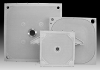 Replaceable Membrane Filter Plate - Overhanging Empty Chamber