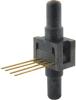 24PC Series, uncompensated/unamplified, differential, ±15 psi 1x4 SIP 15,2 mm [0.60 in] long, straight port -- 24PCCFA6D -Image