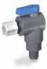 Ball valve, 2-way right angled, EPDM, 1/4