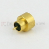 SMP Male Limited Detent Hermetically Sealed Connector .050 inch Pin Terminal Solder Attachment -- SC5282