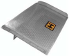 Dock Board - Aluminum with Steel Side Curbs: Options -- 72C
