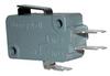 V-Basic Standard V15 Series, 16 A, short straight lever, 4,80 mm x 0,50 mm quick connect terminals, SPDT, 400 gf [3,92 N] -- V15H16-EZ400A01