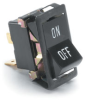 SPST On-Off Rocker Switch, Imprinted -- 57000-10