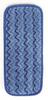 "Rubbermaid Q820 11"" Wall/Stair Wet Microfiber Mopping Pad -- RM-Q820BLU"