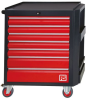 7 Drawer Wheeled Steel Cabinet -- 833-5903