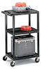 Plastic Cart w/E-unit -- BP34-E4